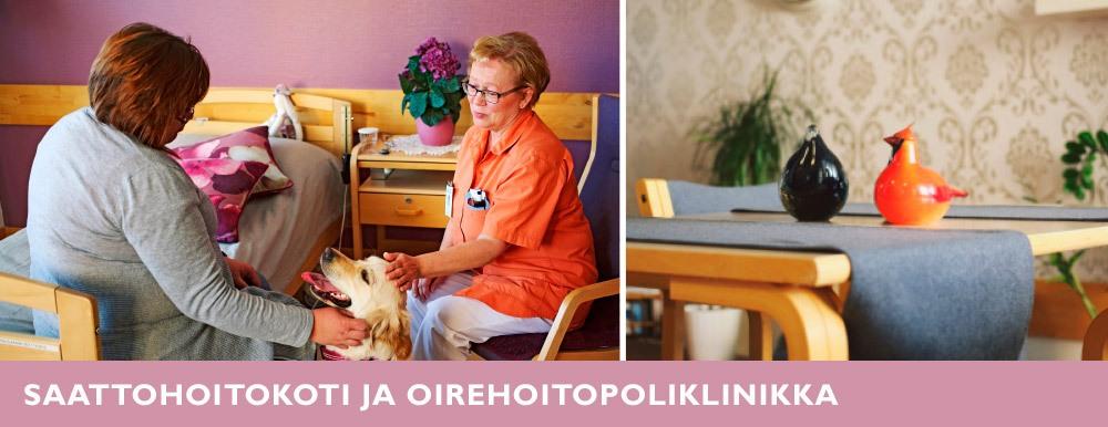 Saattohoitokoti ja oirehoitopoliklinikka