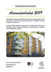 Länsi-Suomen Diakonialaitoksen Asumispalvelut-esite 2019